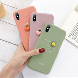 3D Candy Color Silicone iPhone Case
