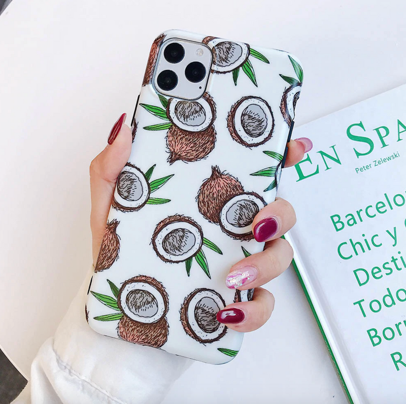 Coconut iPhone Case