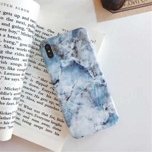 Glossy Marble iPhone Case