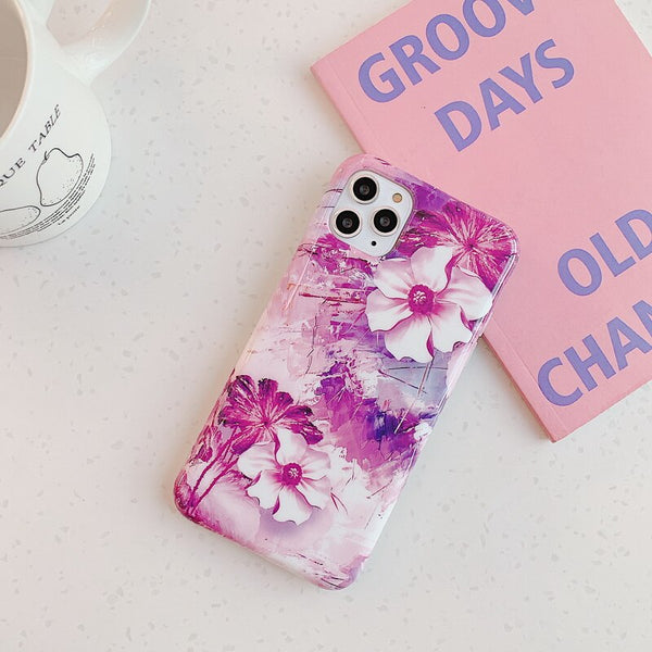 Pinky Flower iPhone Case