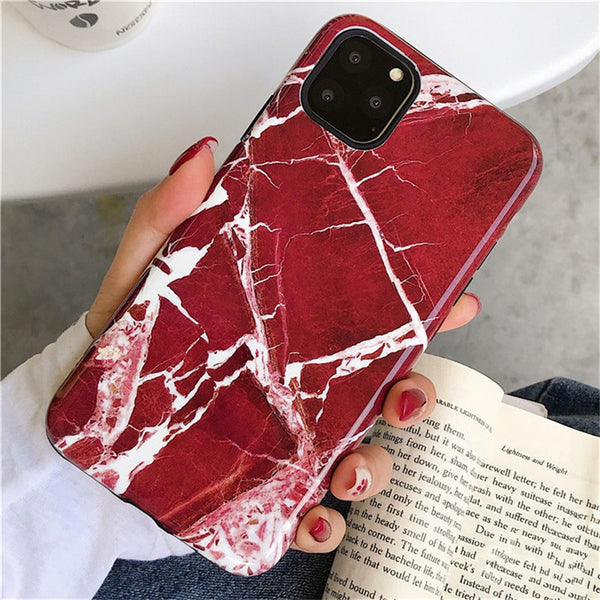 Red Pearl iPhone Case
