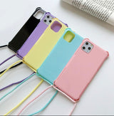 Candy Color Wearable iPhone Case