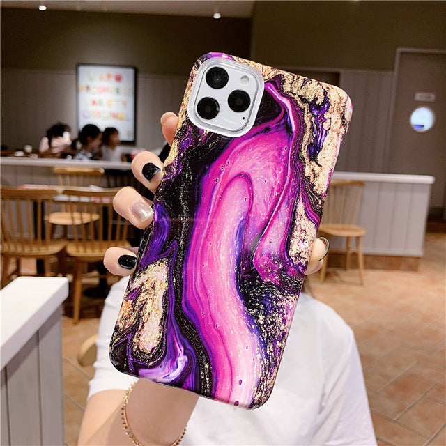 Universe Marble iPhone Case