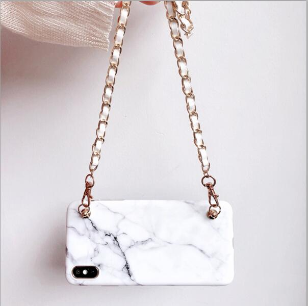 Fashion Marble Wearable iPhone Case