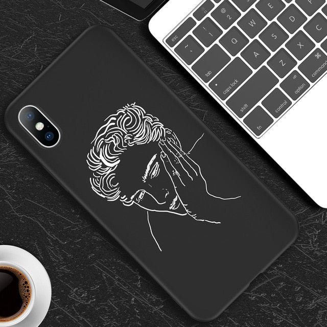 Fashion Abstract Art Lover iPhone Case