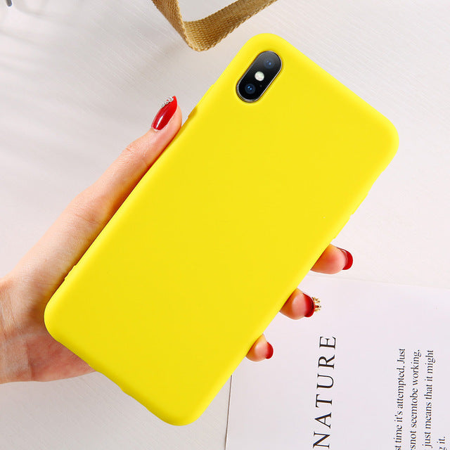 Silicone Candy iPhone Case