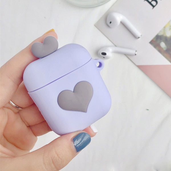 Purple Love Airpod Case