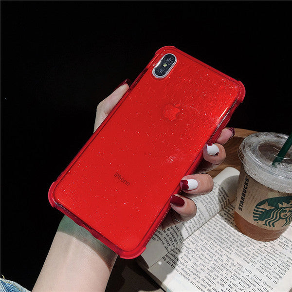 Shining shockproof Glitter iPhone Case