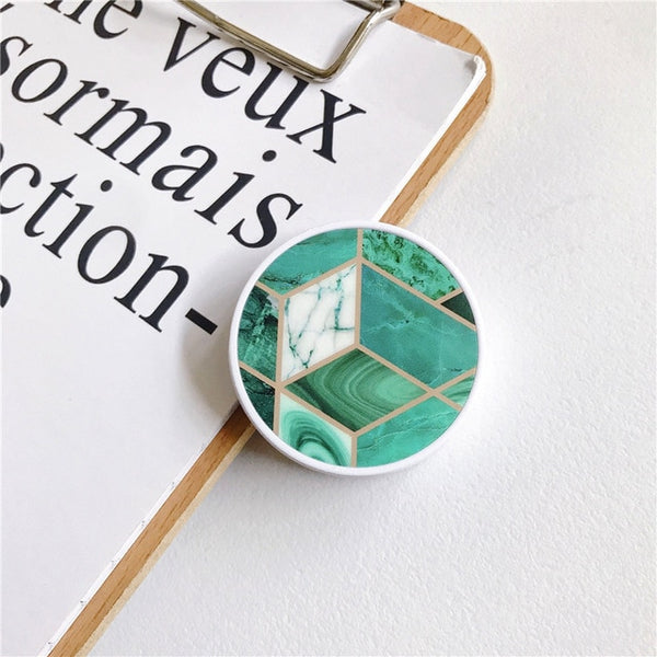 Geometric Marble Ring Holder