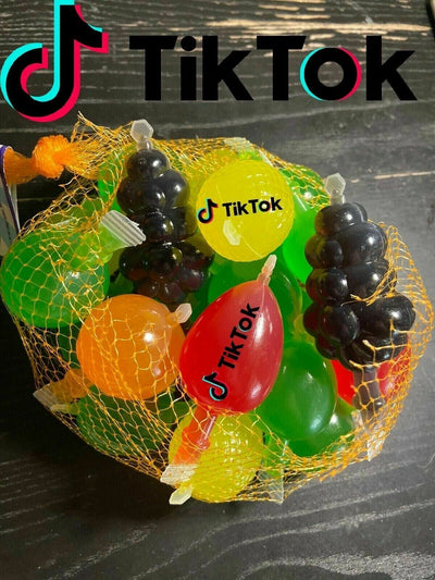 Dely Gely Tiktok fruit jelly - (1 Bag ) 25 piece Fast Free Shipping IN STOCK