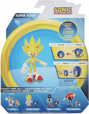 Sonic the Hedgehog  SUPER SONIC (WAVE 2) ACTION FIGURE w/BENDABLE ARMS & LEGS