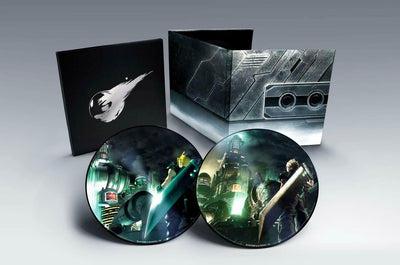 Final Fantasy VII Remake and FF 7 Classic Vinyl Soundtrack Record Set 2 LP