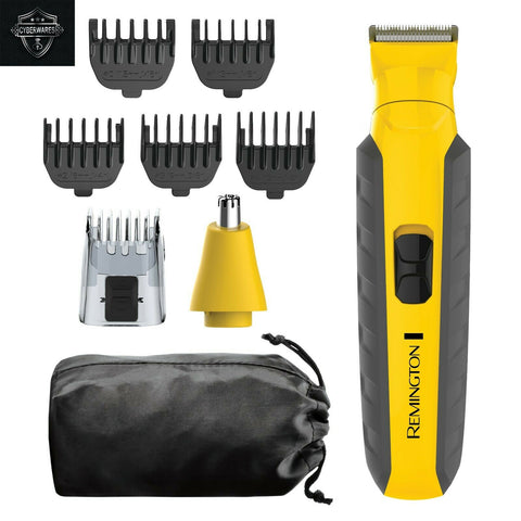 Remington Virtually Indestructible All-in-One Grooming Kit Yellow/Black, PG6855A