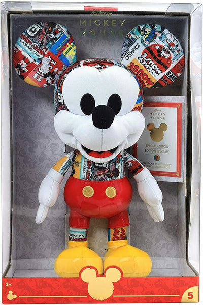 Disney May Limited-Edition Movie Star Mickey Mouse Plush In Hand FREE SHIPPING