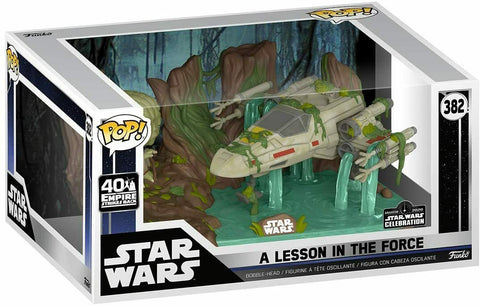 Funko Pop! STAR WARS Lesson in the Force YODA Galactic Convention EXCLUSIVE