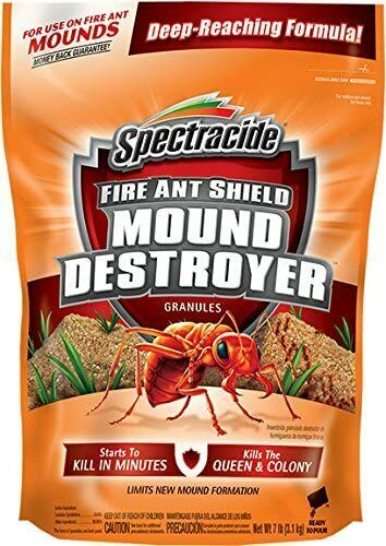 Spectracide Fire Ant Shield HG-96471 Fire Ant Killer Granules, 7 lb