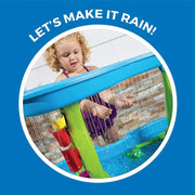 Step2 Rain Showers Splash Pond Kids Water Play Table with 13-Pc Accessory Set