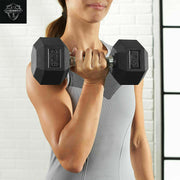 35lb Dumbbell 35 lb Rubber Encased Hex Dumbbell weight CAP WEIDER AMAZON