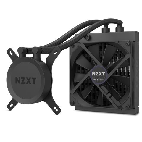 NZXT H1 SFF Case w/ PSU, AIO, and Riser Card CA-H16WR-B1-US BRAND NEW FAST SHIP