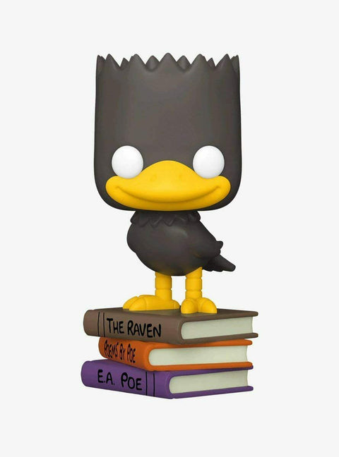 Funko Pop! The Simpsons Treehouse of Horror The Raven Bart Exclusive IN HAND