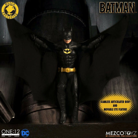 Mezco One:12 Batman 1989 Edition Exclusive Michael Keaton Pre Sale