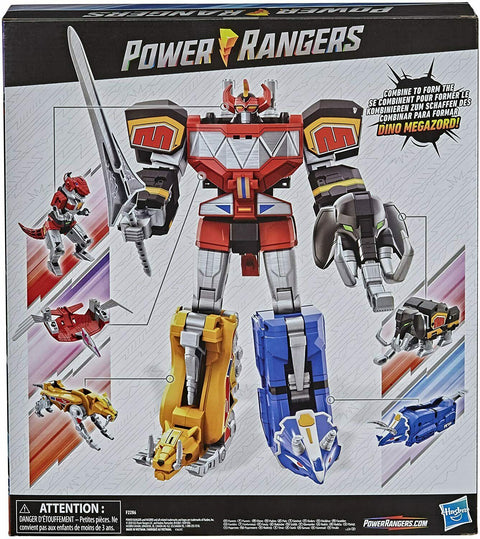 Mighty Morphin Megazord Megapack Action Figure [Includes 5 MMPR Dinozords]
