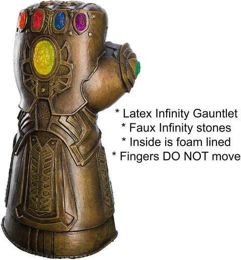 Adult's Avengers Endgame Thanos Prestine Infinity Gauntlet Costume Accessory
