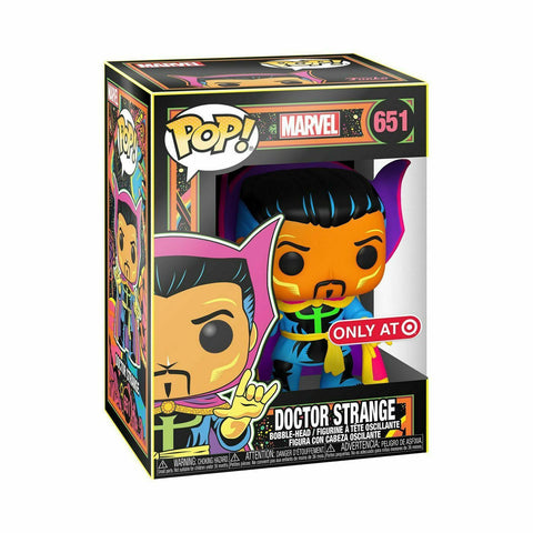 Funko POP! Dr Strange Blaclight Target Exclusive #661 BRAND NEW  IN STOCK