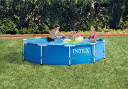 "Intex Metal Pool Frame, 10' x 30"" with pump and filter 28201EH FREE SHIPPING"