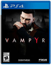 Vampyr for PlayStation 4 (PS4) FACTORY SEALED - NEW - FAST SHIPPING