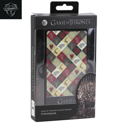 AT&T Game of Thrones Power Bank 5000mAh - Red / Multi