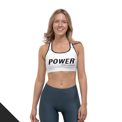 Power Beast Fitness Sports Bra