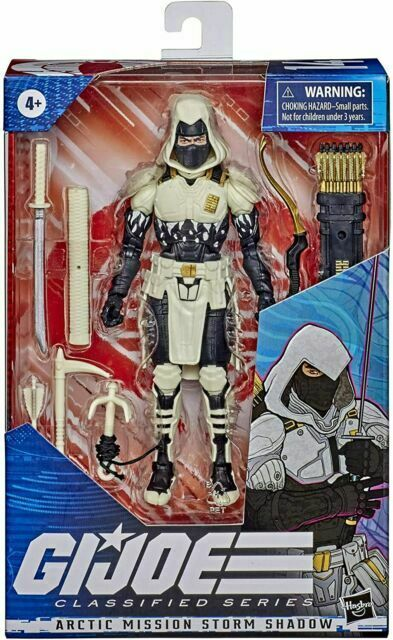 Hasbro G.I. Joe Classified Series Arctic Mission Storm Shadow Action Figure 6""
