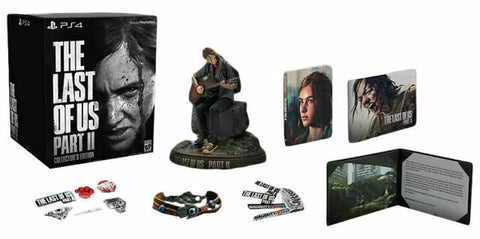 NEW The Last of US Part 2 II Limited Collectors Edition Game INHAND for Sony PS4
