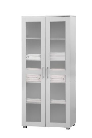 Aspen Cupboard 2 Door Tall White