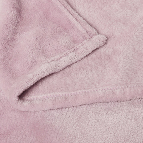 Accessorize Blush Super Soft Blanket - QB/KB