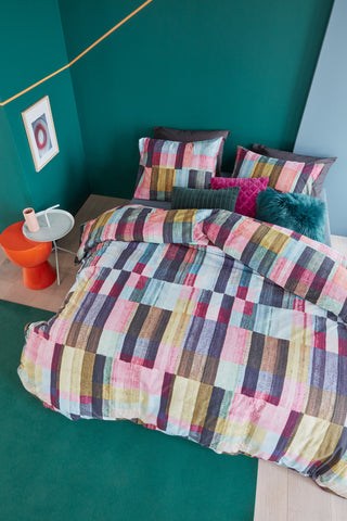 Playful Colours Multi Cotton Quilt Cover Set