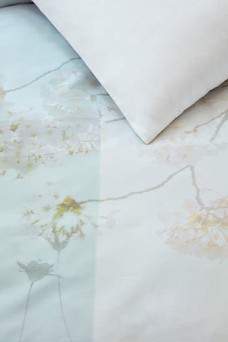 Finely Pastel Cotton Sateen Quilt Cover Set