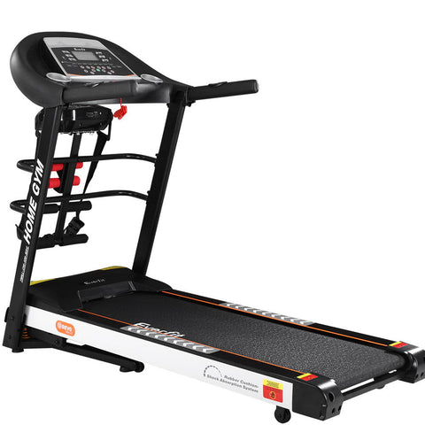 Everfit Electric Treadmill Auto Incline Home Gym Run Exercise Machine Fitness