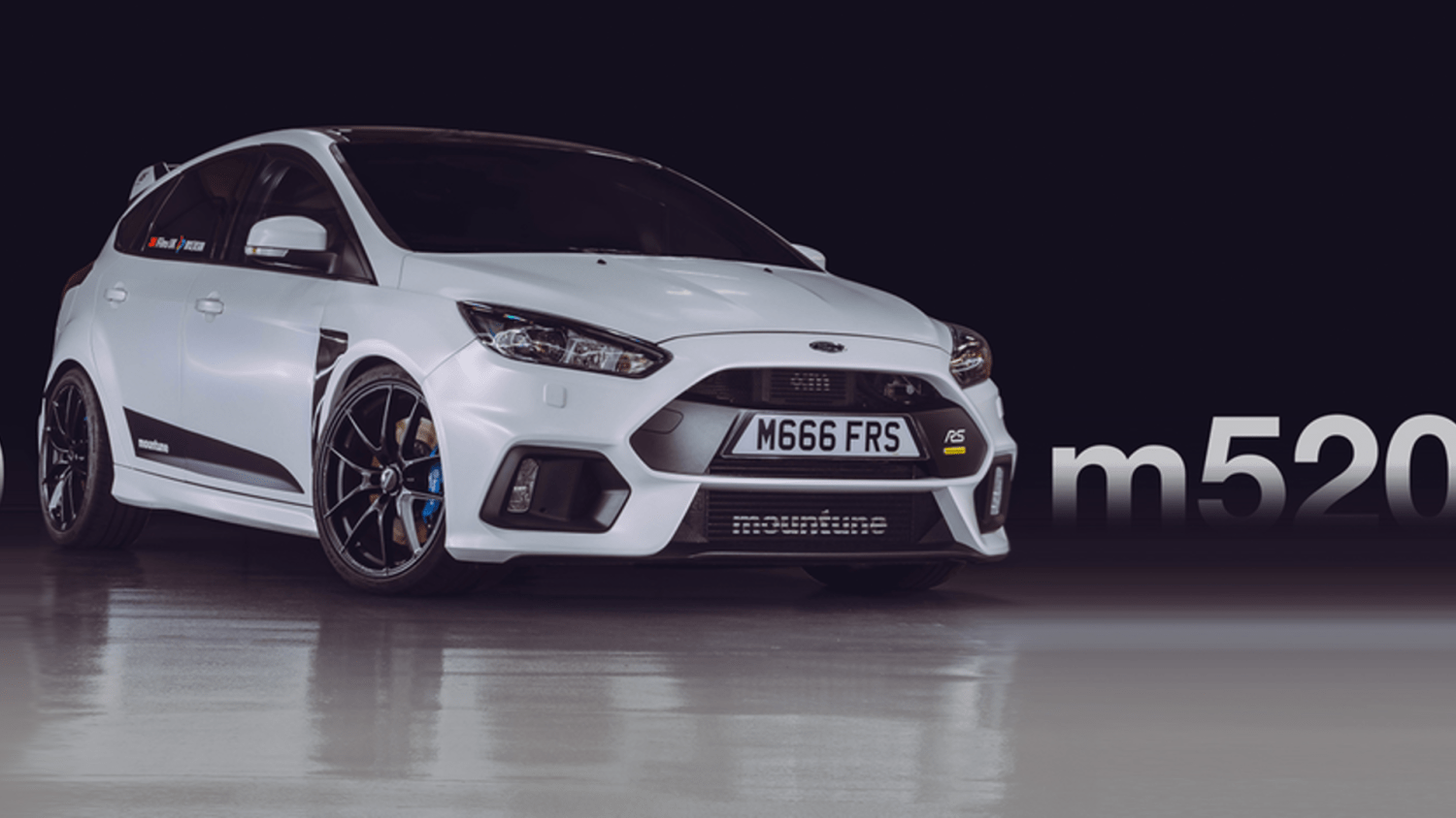 mountune's 520hp Ford Focus RS is beautifully mad