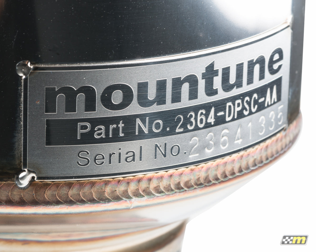 Downpipe / Sports Cat - mountune® - 4
