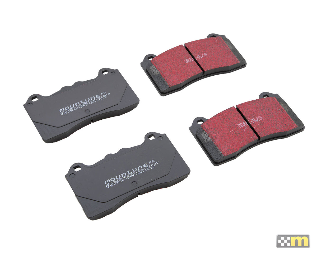 Fast road Brake Pad upgrade (Front) [Mk3 Focus RS]