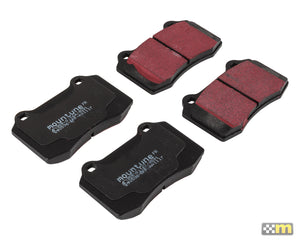 Replacement High-Performance Brake Pad Set (to suit Brembo 4-pot caliper)