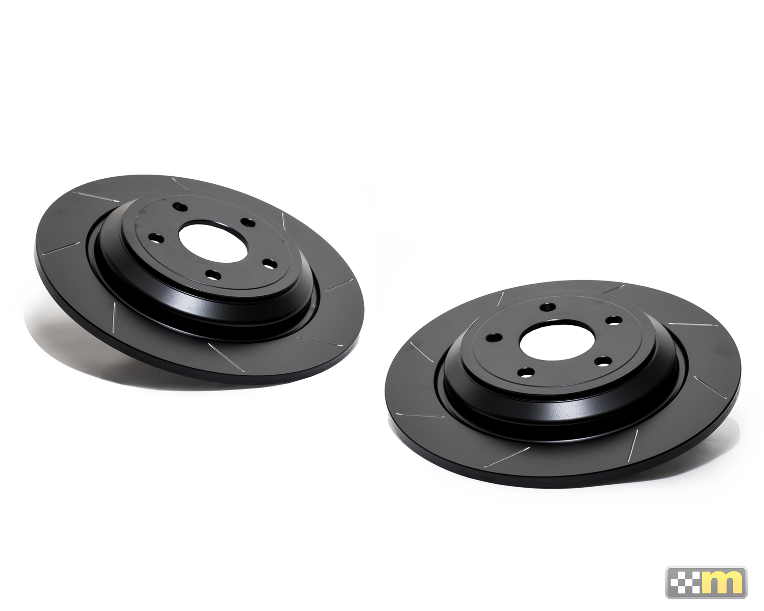 Rear Grooved Discs (pair)