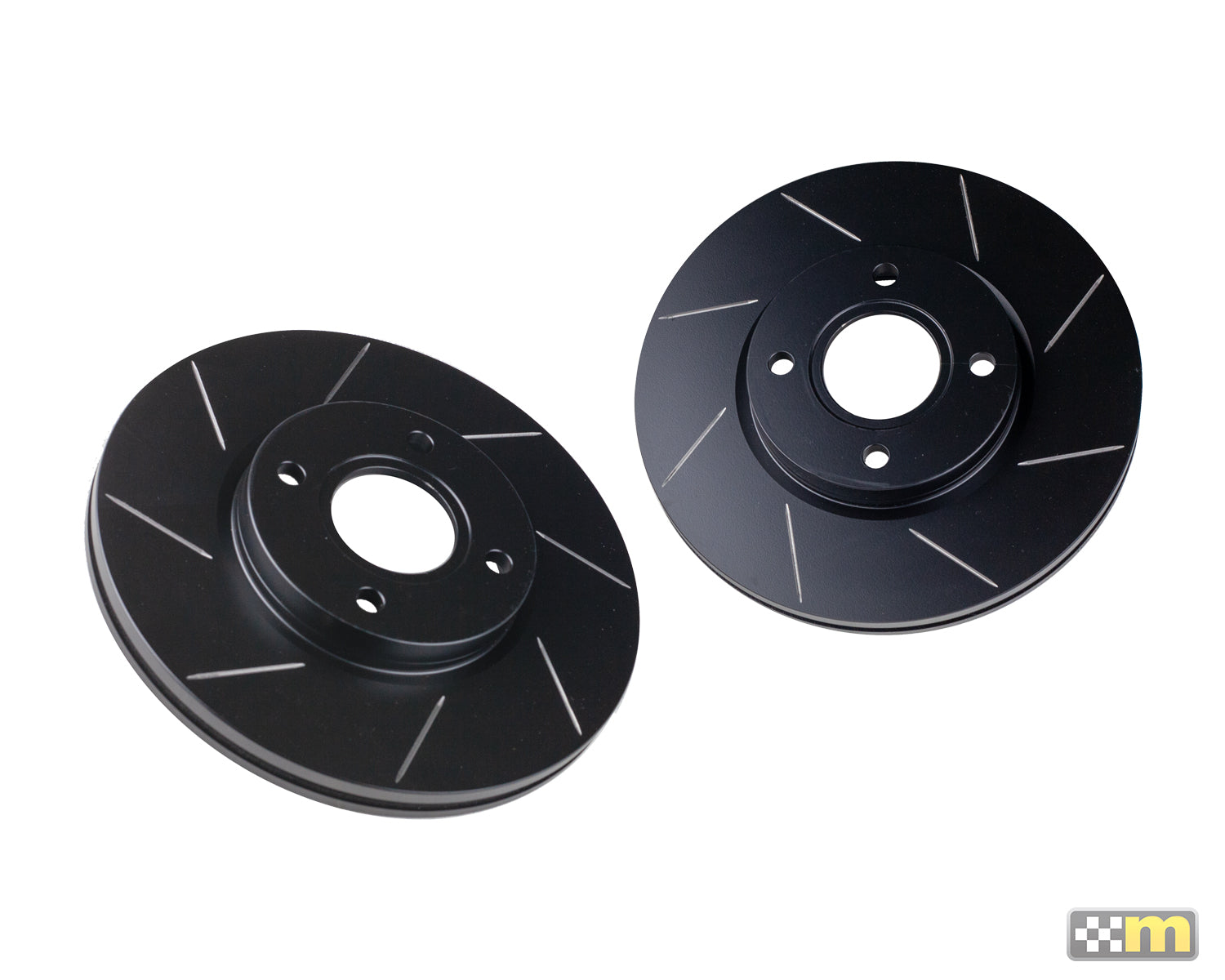 Front Grooved Discs (pair)