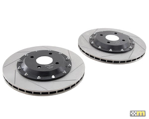 Replacement 318mm Front Disc Bell Assembly (pair)