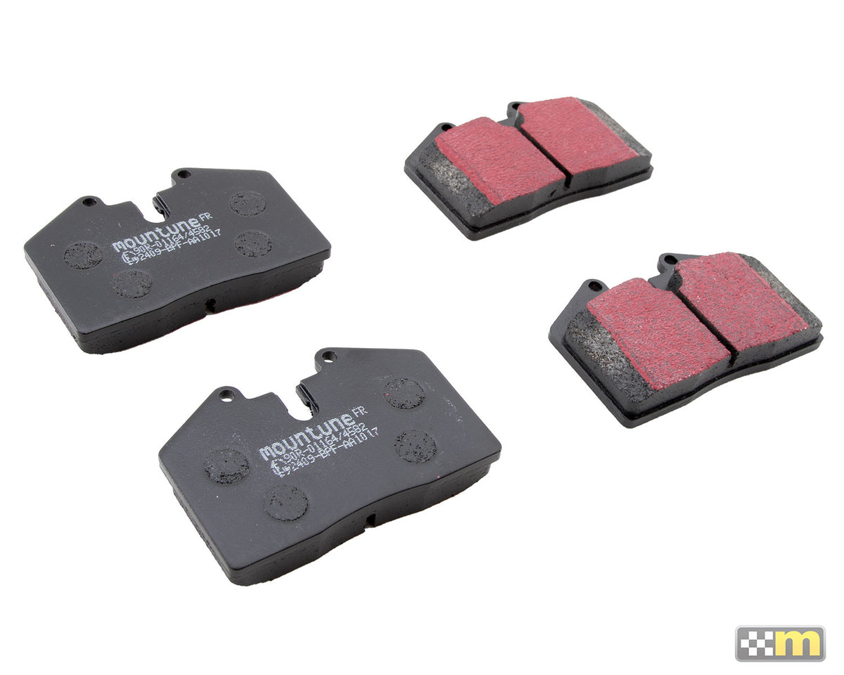 Replacement High-Performance Front Brake Pad Set (to suit Alcon 4-pot caliper) [Mk7 Fiesta ST]