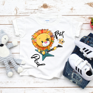 Lion Rock Shirt mit Namen personalisiert