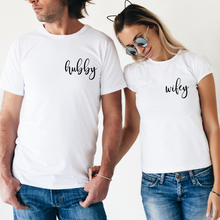 Lade das Bild in den Galerie-Viewer, Wifey & Hubby Shirt Set