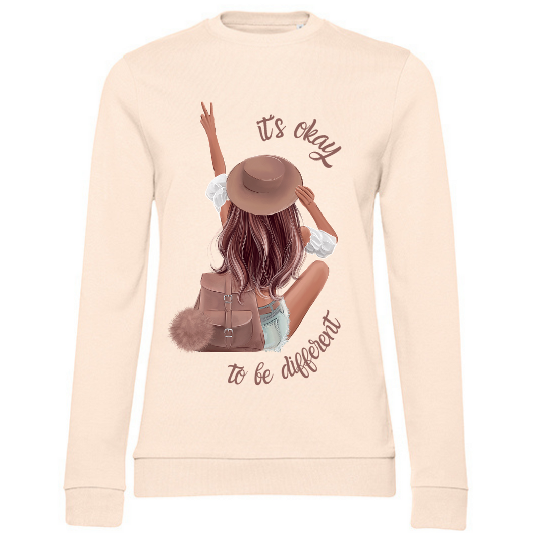 It´s okay to be different Herbst Sweater